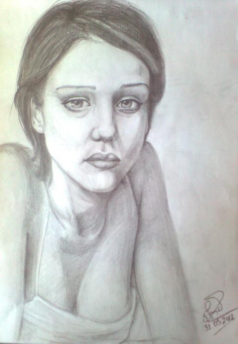 Jessica Alba por Gega